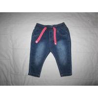 Стильные джинсики Early Days для крошки 3-6 мес., мягкие. Новые.