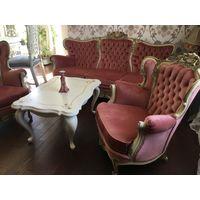 Комплект мягкой мебели Италия!
