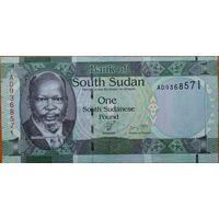 Южный Судан 1 фунт UNC