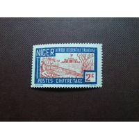 Французский Нигер 1927 г.Ландшафт.