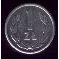 1 Злотый 1990 год Польша