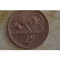 ЮАР 2 цента 1974