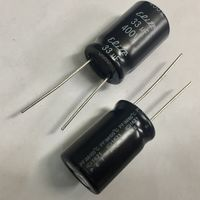 33 мкФ - 400 В ((Цена за 3 шт)) 105с. Электролиты. Электролитические конденсаторы, аналог к50-35. 33мкФ 400В