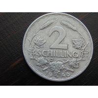 Австрия 2 Шиллинга 1946 год.