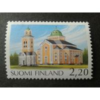 Финляндия 1988 кирха