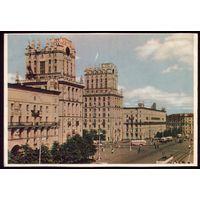 1959 год Минск Привокзальная площадь