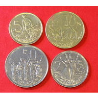 Эфиопия, 5,10,25 и 50 центов