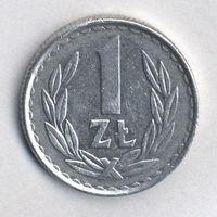 Польша, 1 злотый 1985 г.