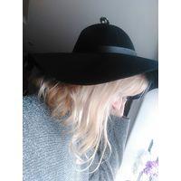 Шляпа черная крутая Хит сезона