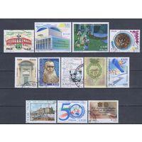 [2111] Италия. 12 гашеных марок.
