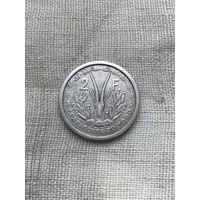 Того 2 франка 1948 г., алюминий, Супер редкость