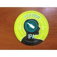 Подставка под пиво Vertigo IPA Schwarz Kaiser Brewery