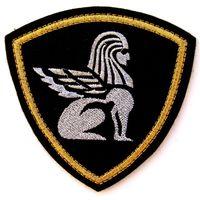 Шеврон Северо-Западного регионального командования ВВ МВД России, метал.нить(распродажа коллекции)