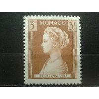 Монако 1957 Княгиня Патрисия, рождение принцессы Каролины**
