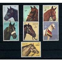 Лаос 1987г. лошади, 7м.