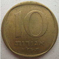 Израиль 10 агорот 1974 г.