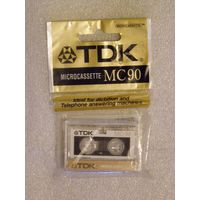 Микрокассета TDK MC-90 (в упаковке)