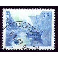 1 марка 1998 год Норвегия Корабль 1280