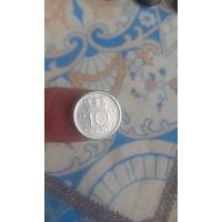 112# 10 центов 1948. нидерланды