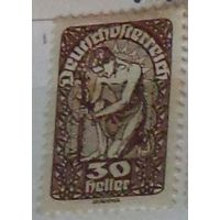 Аллегория. Немецкая Австрия. Дата выпуска:1919-07