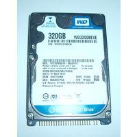 Жесткий диск WD3200BEVE неисправный.