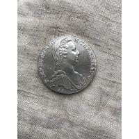Австрия 1 талер 1780 г., Мария  Терезия