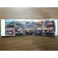 Малайзия 1995 Легковые автомобили Буклет Михель-12,0 евро