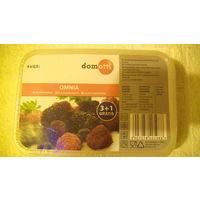 Пластиковые контейнеры для ягол 4 шт. OMNIA domotti. 0.5 литра. распродажа