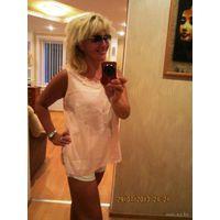 Блуза цвет - светлый Персик. Тренд этого года р. 50-52