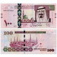 Саудовская Аравия. 100 риалов (образца 2012 года, P35c)
