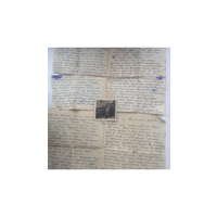 Военные письма 41г. И фото