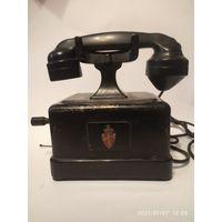 Старинный телефон Elektriks Bureau Oslo .Норвежская компания,основанная в 1882 г.