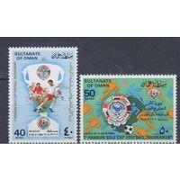 [1358] Оман 1984.Спорт,футбол.