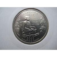 США КВОТЕР 2003 ГОД  АЛАБАМА В ХОЛДЕРЕ СОСТОЯНИЕ !!!