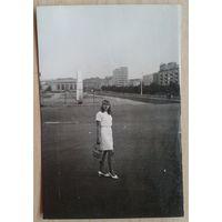 Фото. Минск. Парковая магистраль. Конец 1960-х. 10х15 см.