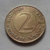 2 толара, Словения 2000 г.