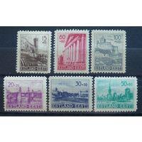 Эстония\441\Estonia1941 / Mi 4-9 /Sc #NB1-NB6 MNH оккупация