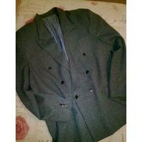 Пиджак мужской классический серый