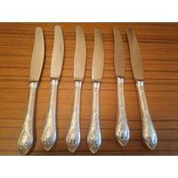 Ножи столовые серебро 875 пр