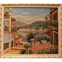 Картина маслом 148 ривьера 3 60х80
