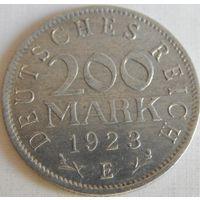3. Германия 200 марок 1923 год Е