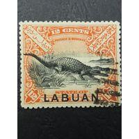 Лабуан. 1897-1898г.