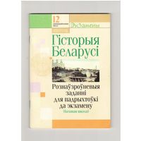 Гiсторыя Беларусi задания для подготовки к экзамену