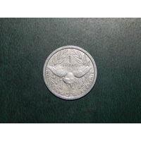 Новая каледония 1 франк 1983