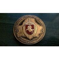 Медаль настольная - МВД РБ (Погоня)