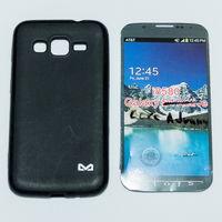 566 Чехол для Samsung Core Advance (GT-I8580) силиконовый чёрный