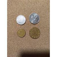 Литва набор 4 монеты