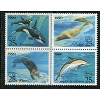 СССР 1990 год. Морские млекопитающиеся