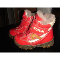 Зимние ботинки р-р 21.