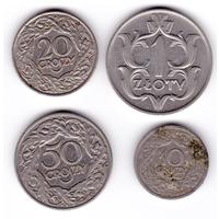 Комплект монет Польши 1923-1929
